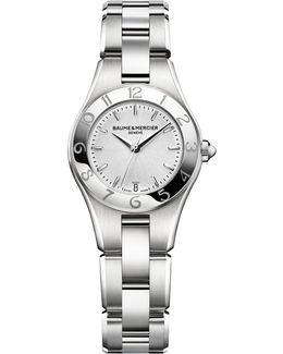 Linea 10009 Interchangeable Stainless Steel Bracelet Watch