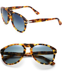 Retro Keyhole Sunglasses