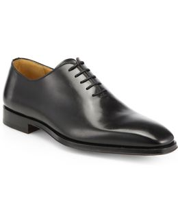 Saks Fifth Avenue By Magnanni Leather Balmoral Shoes