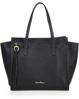 Amy Convertible Leather Tote
