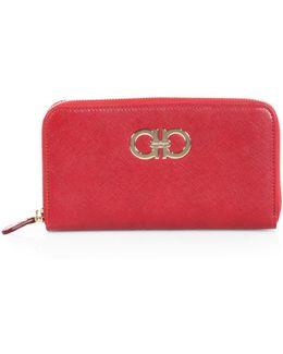 Gancini Icona Zip-around Wallet