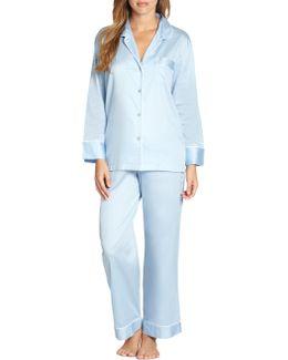 Cotton Sateen Pajamas