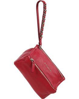 Pandora Leather Wristlet Pouch