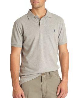 Custom-fit Cotton Mesh Polo