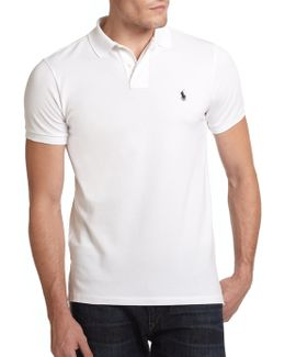 Custom-fit Cotton Mesh Polo