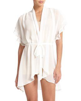 Raquel Chiffon Short Wrap Robe