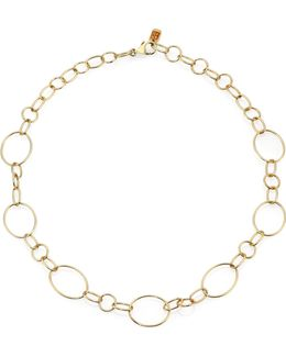 Glamazon 18k Yellow Gold Link Necklace/18