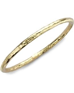 Glamazon 18k Yellow Gold #2 Bangle Bracelet