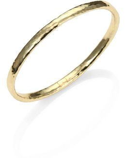 Glamazon 18k Yellow Gold Bangle Bracelet