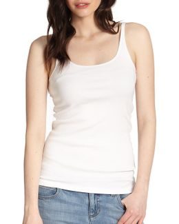 System Organic Cotton Tank Top