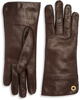 Jacqueline Leather Gloves