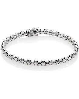 Dot Sterling Silver Slim Bracelet