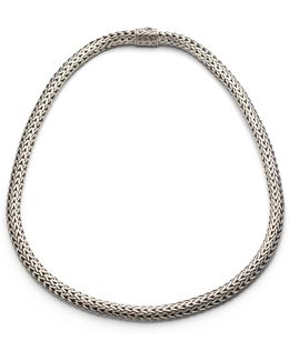 Classic Chain Sterling Silver Small Necklace/18