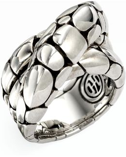 Kali Sterling Silver Twist Ring