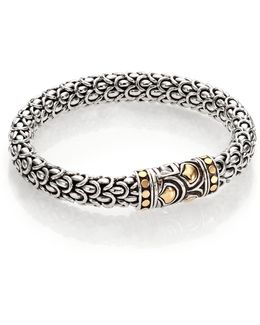 Naga 18k Yellow Gold & Sterling Silver Chain Bracelet