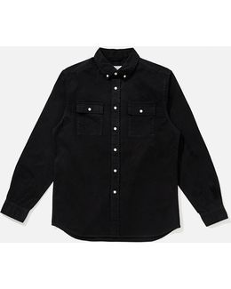 Angus Button Down Broken Twill Shirt