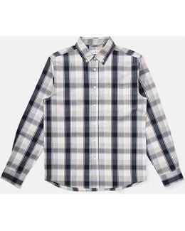 Crosby Button Down Madras Shirt