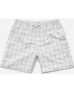 Timothy Window Pane Swim Shorts