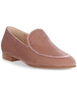 Marcel Blush Velvet Loafer Us
