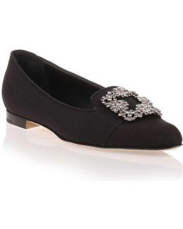 Marria Black Embellished Slipper Us