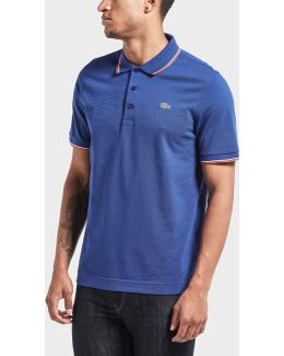 Tipped Short Sleeve Polo Shirt