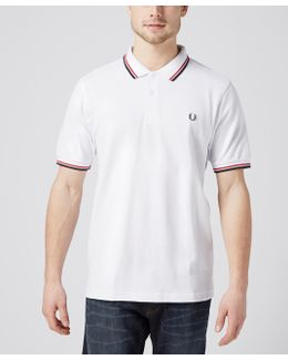 Slim Twin Tipped Polo Shirt