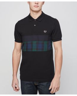 Blackwatch Panel Polo Shirt - Exclusive