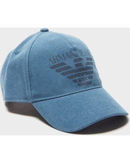 Large Eagle Logo Cap