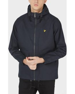 Full-zip Hooded Lightweight Jacket