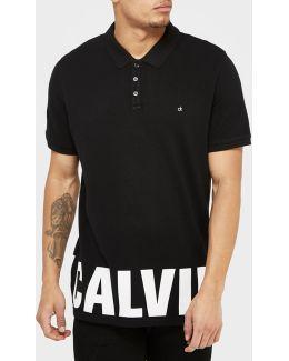 Hem Logo Polo Shirt