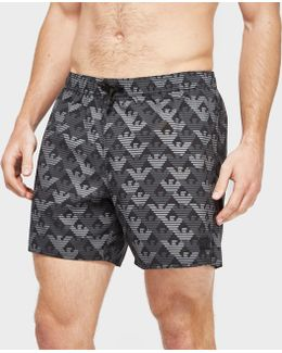 Multi Eagle Swim Shorts