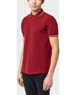Twin-tip Oxford Polo Shirt