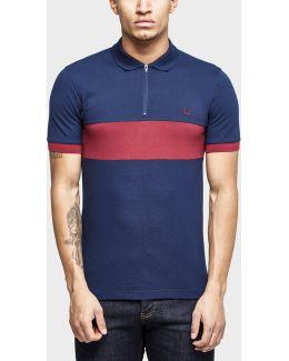 Chest Panel Pique Shirt