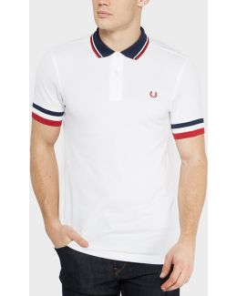 Striped Cuff Polo Shirt - Exclusive
