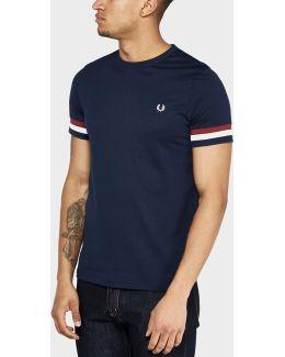 Stripe Cuff T-shirt
