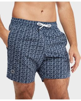Aop Paisley Swimshorts - Exclusive