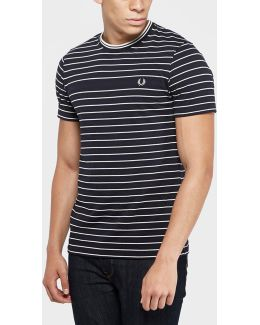 Pique Stripe Short Sleeve T-shirt