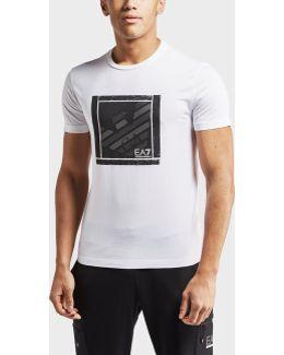 Eagle Box Logo Short Sleeve T-shirt