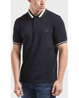 Bold Tipped Short Sleeve Polo Shirt