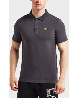 Shield Short Sleeve Polo Shirt