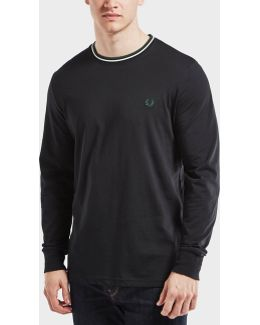 Tipped Long Sleeve T-shirt - Exclusive