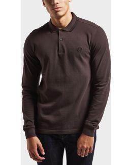 Twin Tipped Long Sleeve Polo Shirt