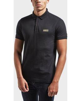 International Small Logo Short Sleeve Polo Shirt