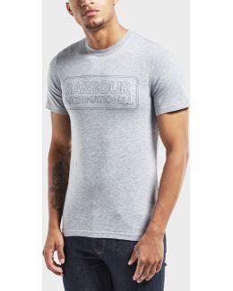 International Line Logo Short Sleeve T-shirt