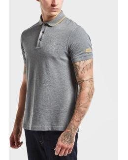 International Tipped Short Sleeve Polo Shirt
