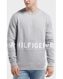 Panel Crew Neck Sweatshirt