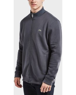 Pique Zip Through Track Top