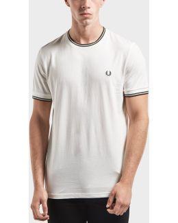 Tipped Ringer Short Sleeve T-shirt