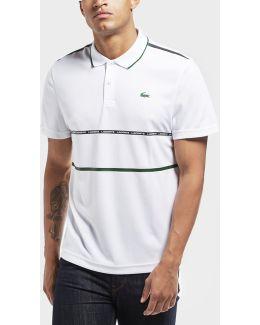 Twin Stripe Short Sleeve Polo Shirt