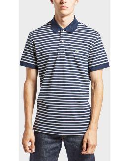 Horizontal Stripe Polo Shirt